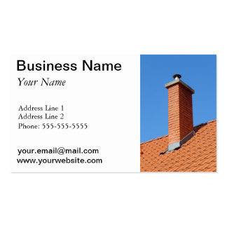 chimney business card templates