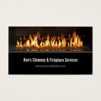 Chimney & Fireplace Services Repairs Business Card