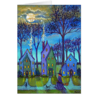 Chimney Ghosts Note Card