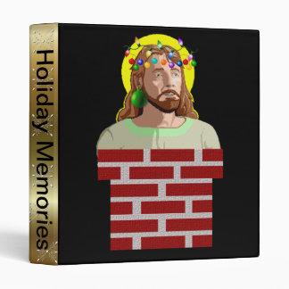 Chimney Jesus 3 Ring Binder