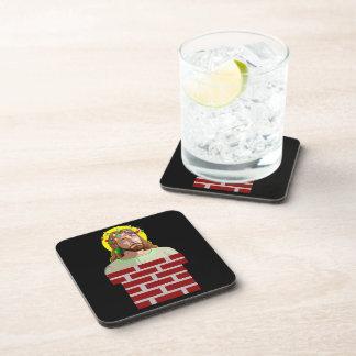 Chimney Jesus Beverage Coaster