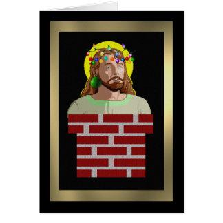 Chimney Jesus Card