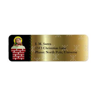 Chimney Jesus Label