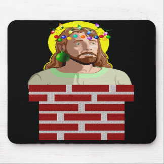 Chimney Jesus Mousepads