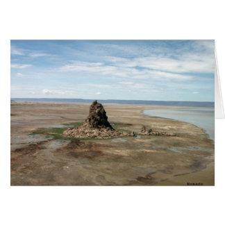 Chimney - Lake Abbe Card
