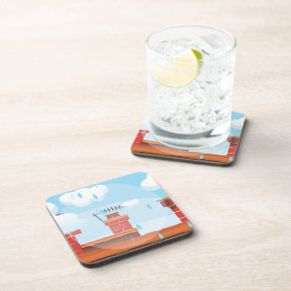 Chimney Pots Beverage Coaster
