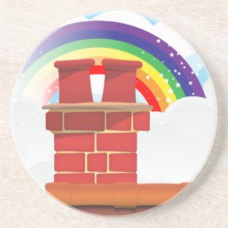 Chimney Pots Coaster