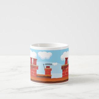 Chimney Pots Espresso Cup