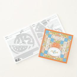 Chimney Quilt Block Pattern Notebook