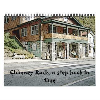 Chimney Rock, a step back in time calender Calendar