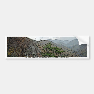 Chimney Rock and Devils Head Bumper Stickers