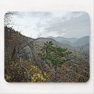 Chimney Rock and Devils Head Mousepads