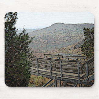 Chimney Rock Artistic Sketch Mouse Pad