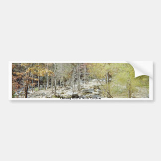 Chimney Rock creek Bumper Sticker
