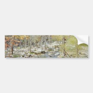 Chimney Rock Creek Getaway Bumper Sticker