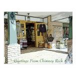 Chimney Rock, Creek, & Seasons Greetings Post Cards
