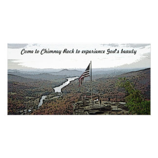 Chimney Rock God's Beauty Card