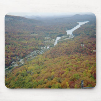 Chimney Rock in North Carolina Mouse Pads