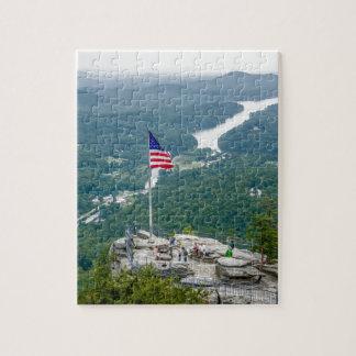 chimney rock lake lure north carolina landscape na puzzle