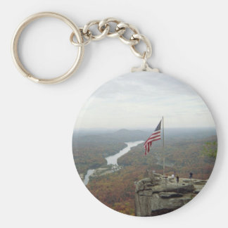 Chimney Rock Mountain Key Chains