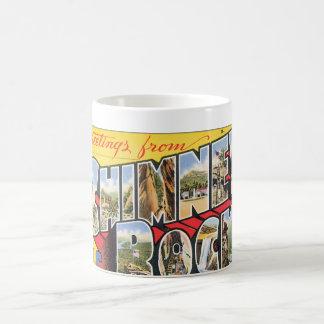 Chimney Rock N.C. Vintage Travel Poster Coffee Mug