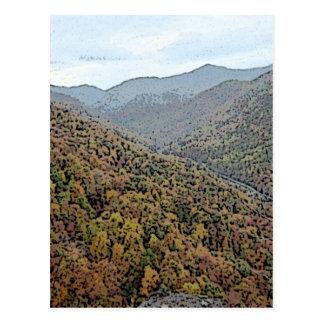 Chimney Rock, North Carolina Postcard
