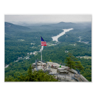 Chimney Rock north carolina Poster