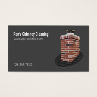 Chimney Sweep Cleaning & Repairs Business Card