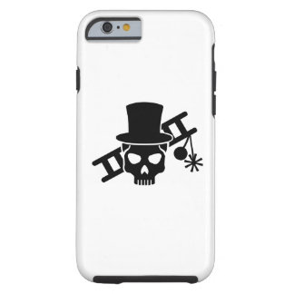 Chimney sweep skull tough iPhone 6 case