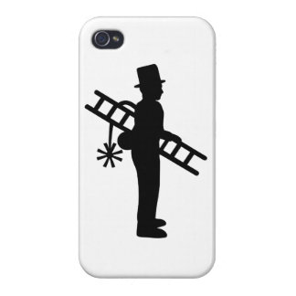Chimney sweeper case for iPhone 4