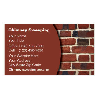 Chimney Sweeping Business Cards