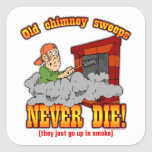 Chimney Sweeps Square Sticker