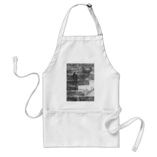 Chimney Swift and Nest Adult Apron