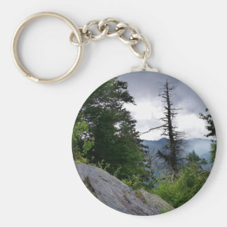 Chimney Tops great smoky mountains Keychain