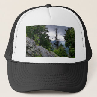 Chimney Tops great smoky mountains Trucker Hat