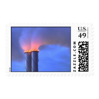 Chimney Twins Post Stamp