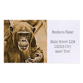 Chimp 216 business card