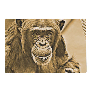 Chimp 216 placemat