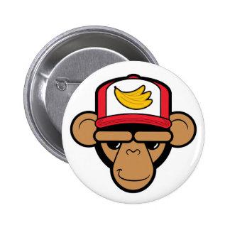 Chimp accessories That s bananas yo Pinback Buttons