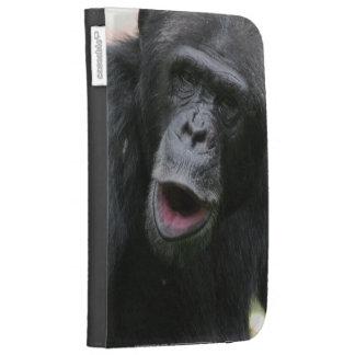Chimp Chat Kindle Case