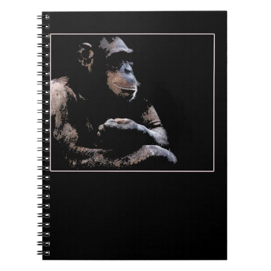 chimp chill notebook
