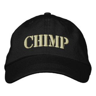 CHIMP EMBROIDERED BASEBALL HAT