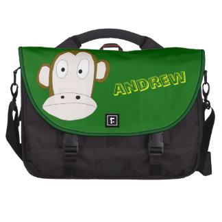 Chimp Face Laptop Bag Template