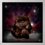 Chimp Love Print