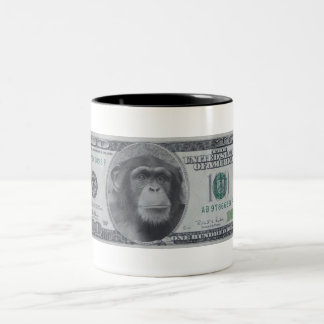 Chimp Money Money Coffee Mugs