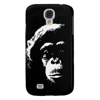 Chimp Shadows Samsung Galaxy S4 Cases