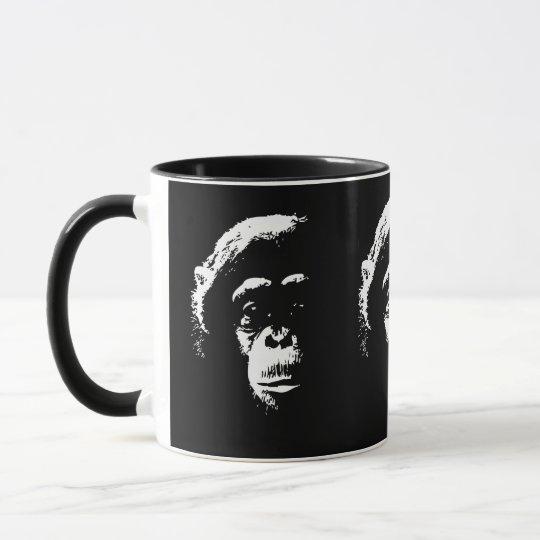 Chimp Shadows Mug