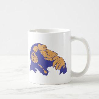 Chimp Thinking Coffee Mug
