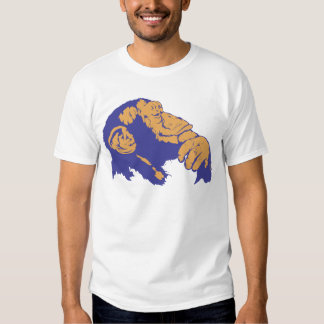 Chimp Thinking T Shirt