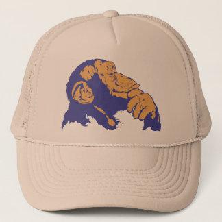 Chimp Thinking Trucker Hat